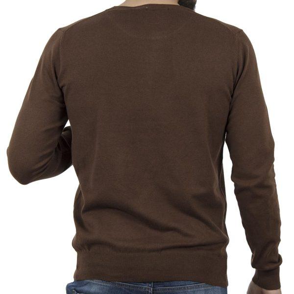 Πλεκτή Μπλούζα SMART & CO 40-206-019 Camel