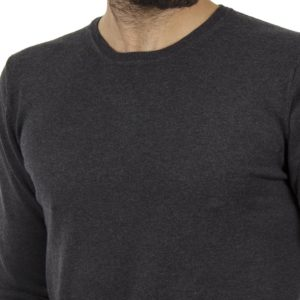 Πλεκτή Μπλούζα SMART & CO 40-206-019 σκούρο Γκρι