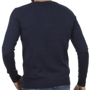Πλεκτή Μπλούζα SMART & CO 40-206-019 Navy