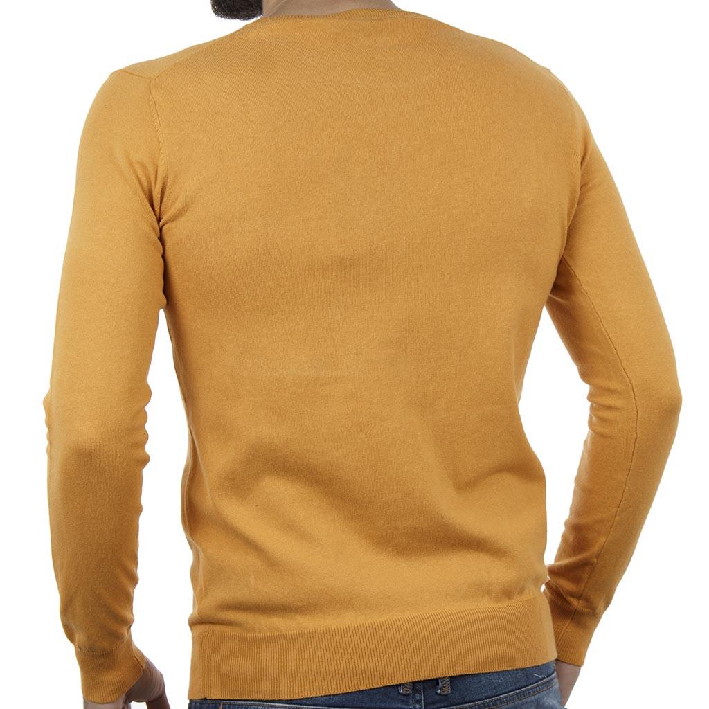 Πλεκτή Μπλούζα SMART   CO 40-206-019 ochre Πορτοκαλί  52e331e06d5