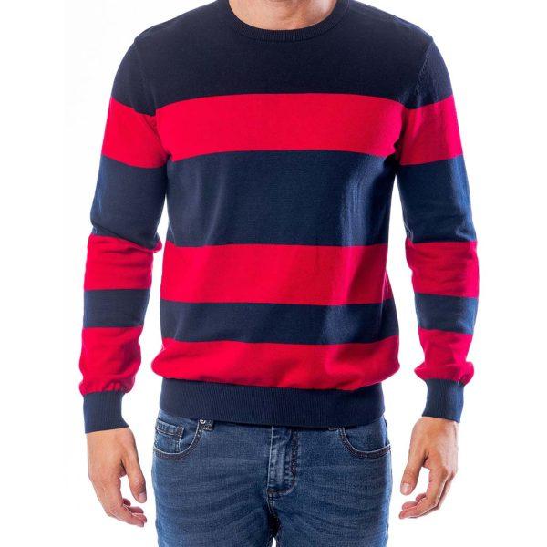 Πουλόβερ Πλεκτή Μπλούζα HEAVY TOOLS HASSIC Κόκκινο