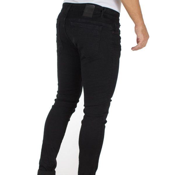Jean Παντελόνι Back2jeans W13 s.slim Μαύρο