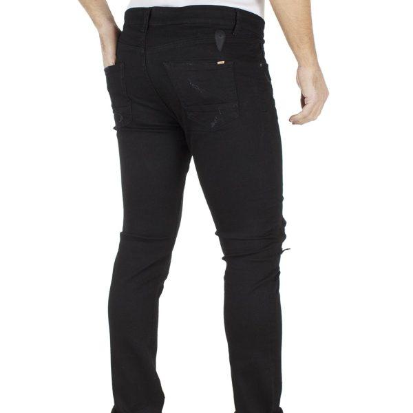 Τζιν Παντελόνι Skinny COVER BRUNO G0360 Μαύρο