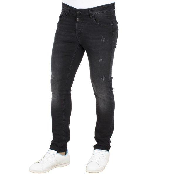 Τζιν Παντελόνι Skinny COVER BRUNO G0560 Μαύρο