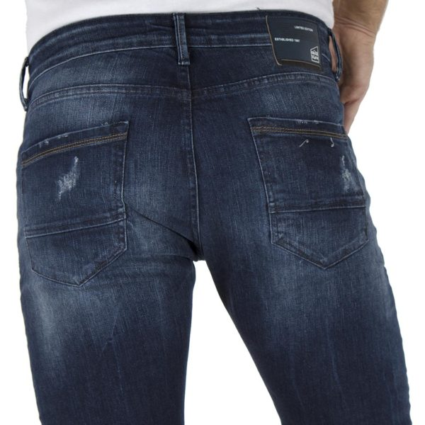Τζιν Παντελόνι Slim Fit COVER DARIO E2429 Μπλε