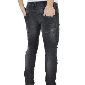 Τζιν Παντελόνι Loose Skinny COVER SK8-K2474 Μαύρο