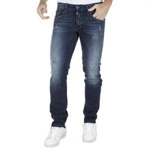 Τζιν Παντελόνι Super Slim COVER TEDDY E2479 Μπλε