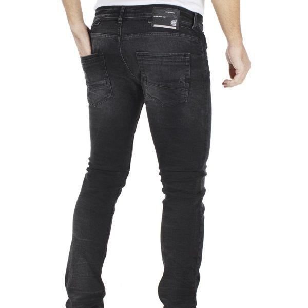 Τζιν Παντελόνι Super Slim COVER TEDDY G2479 Μαύρο