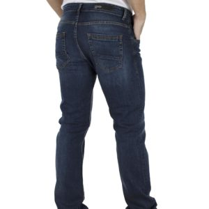 Τζιν Παντελόνι Regular Fit COVER TROY E0564 Μπλε