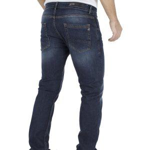 Τζιν Παντελόνι Regular Fit COVER TROY E0964 Μπλε