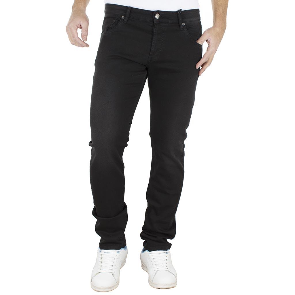 e02b1e2d0342 Τζιν Παντελόνι Regular Fit SHAFT Jeans L718 Μαύρο