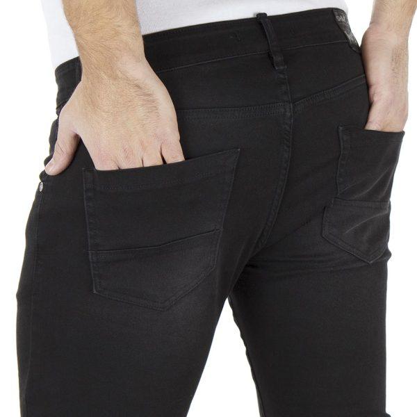 Τζιν Παντελόνι Regular Fit SHAFT Jeans L718 Μαύρο