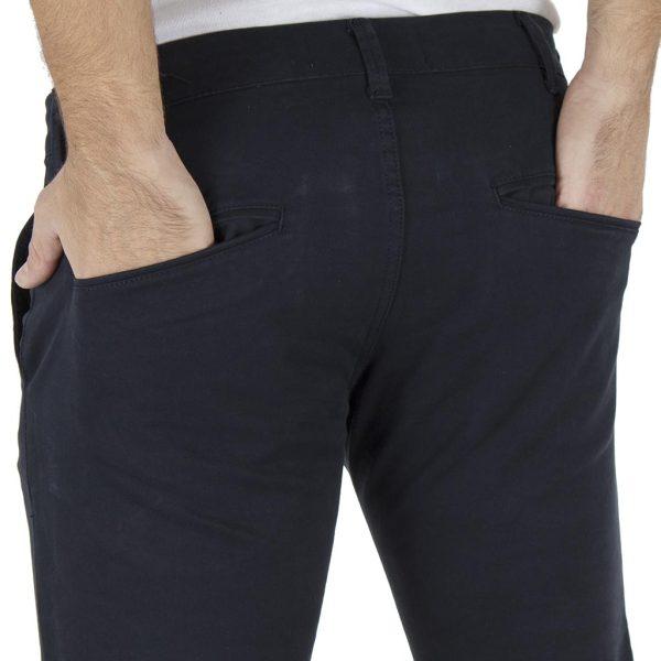 Παντελόνι Casual Chinos COVER CHIBO T0085 Navy