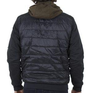 Φουσκωτό Φλάι Μπουφάν με Κουκούλα BLEND 20706781 Μαύρο