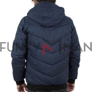 Φουσκωτό Μπουφάν Puffer Jacket SPLENDID 40-201-084 Navy