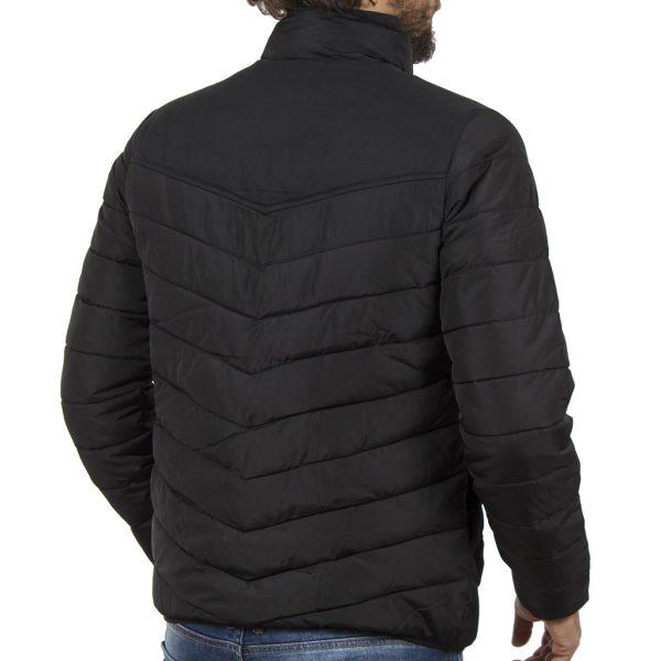 Φουσκωτό Μπουφάν Puffer Jacket SPLENDID 40-201-014 Μαύρο