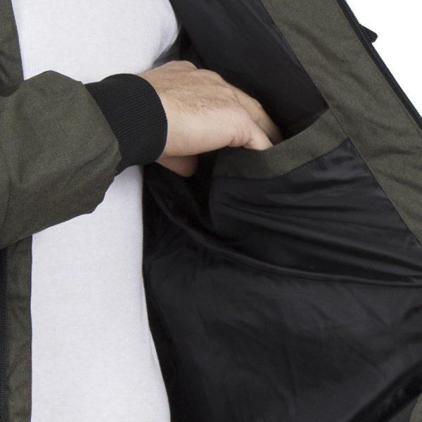 Φουσκωτό Μπουφάν Puffer Jacket SPLENDID 40-201-084 Πράσινο