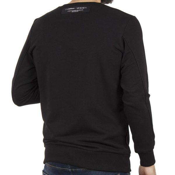 Μπλούζα Φούτερ COVER FARMY Z303 Μαύρο