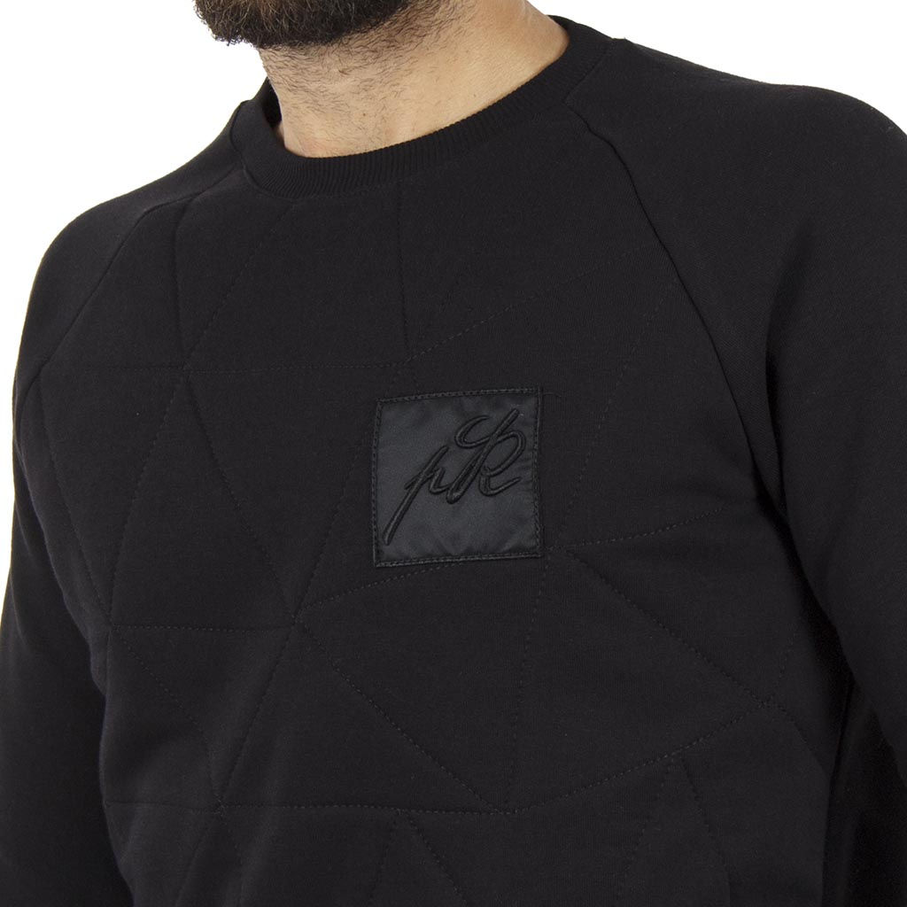 Μπλούζα Φούτερ PONTE ROSSO NEEDLE 18-2046 Μαύρο  c1ab9e20019