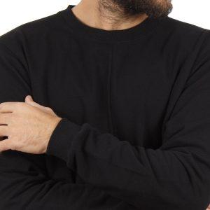 Μπλούζα Φούτερ SANTANA SW18-3-49 Μαύρο