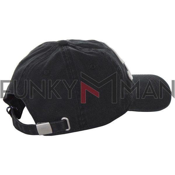 Καπέλο Jockey FUNKY BUDDHA FBM010-10119 Μαύρο