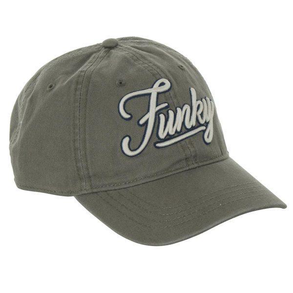 Καπέλο Jockey FUNKY BUDDHA FBM010-10119 Χακί