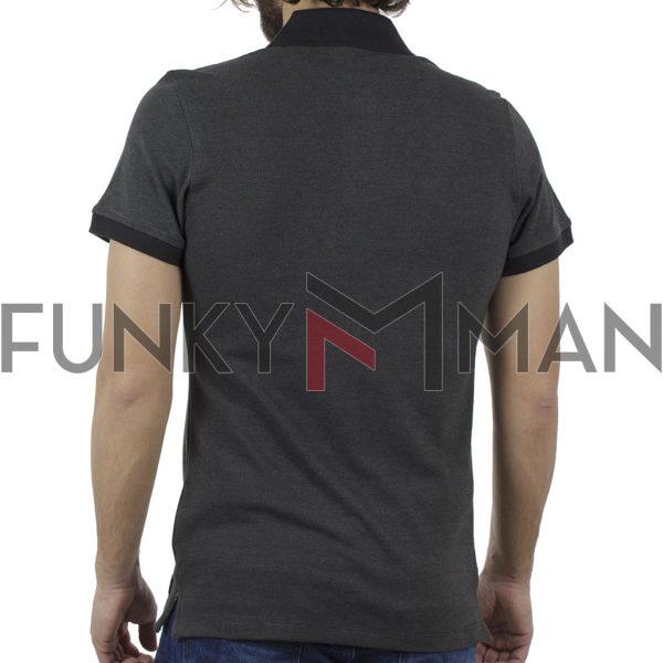 Κοντομάνικη Μπλούζα POLO BLEND 20707436 Ανθρακί