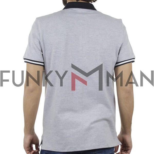 Κοντομάνικη Μπλούζα POLO BLEND 20707454 ανοιχτό Γκρι