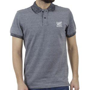 Κοντομάνικη Μπλούζα POLO BLEND 20707455 Stone Blue