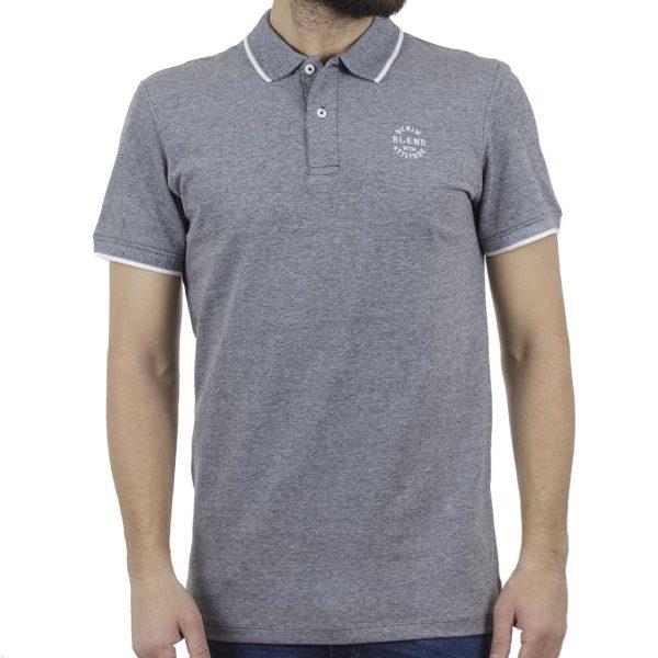 Κοντομάνικη Μπλούζα POLO BLEND 20708180 Γκρι