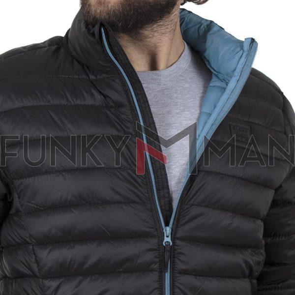Φουσκωτό Μπουφάν Puffer Jacket BLEND 20707520 Μαύρο