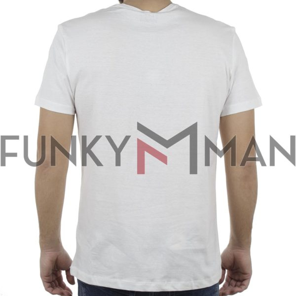 Κοντομάνικη Μπλούζα T-Shirt BLEND 20707408 Λευκό