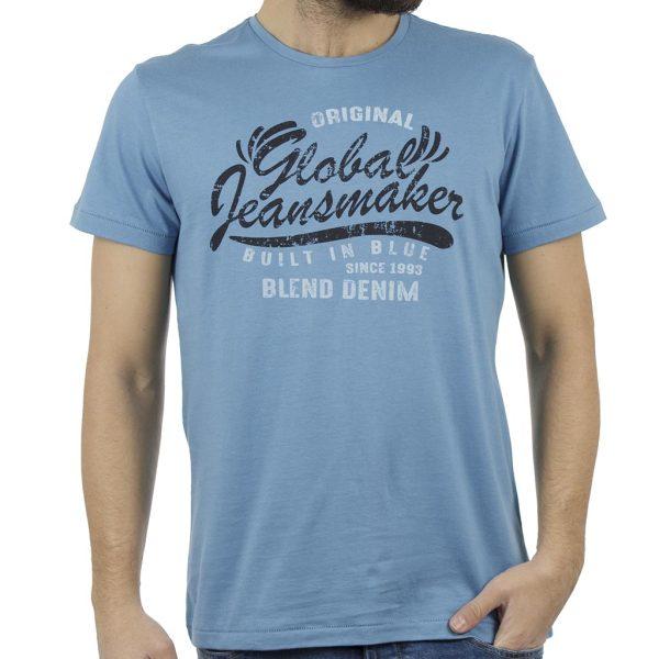 Κοντομάνικη Μπλούζα T-Shirt BLEND 20707409 Sky Blue