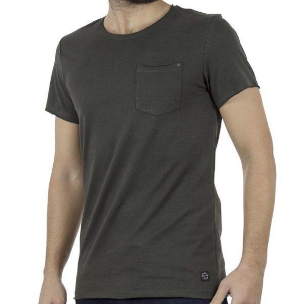 Κοντομάνικη Μπλούζα T-Shirt BLEND 20707415 Χακί