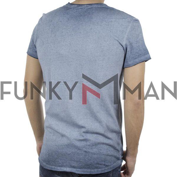 Κοντομάνικη Μπλούζα T-Shirt BLEND 20707421 Sky Blue
