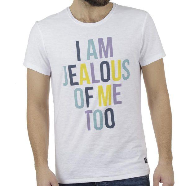 Κοντομάνικη Μπλούζα T-Shirt BLEND 20707427 Λευκό