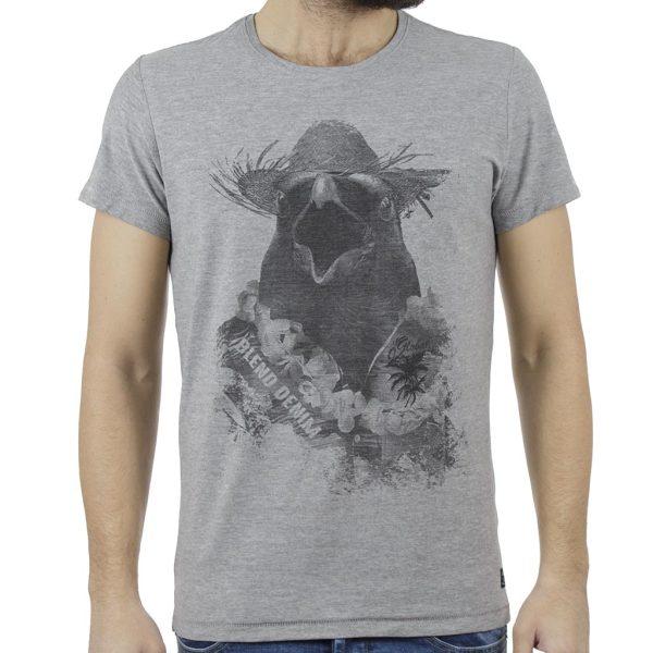 Κοντομάνικη Μπλούζα T-Shirt BLEND 20707446 Γκρι