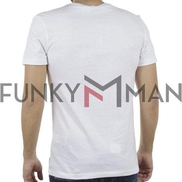 Κοντομάνικη Μπλούζα T-Shirt BLEND 20707449 Λευκό