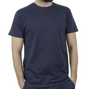 Κοντομάνικο Μπλούζακι T-Shirt DOUBLE TS-83 Μπλε