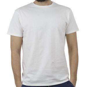 Κοντομάνικο Μπλούζακι T-Shirt DOUBLE TS-83 Λευκό