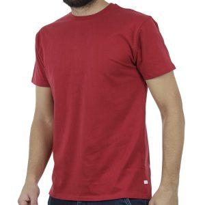 Κοντομάνικο Μπλούζακι T-Shirt DOUBLE TS-83 Κόκκινο