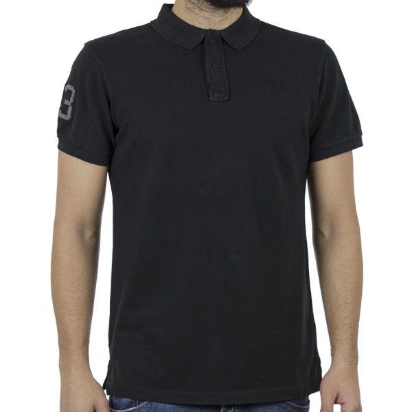 Κοντομάνικη Μπλούζα POLO BLEND 20707456 Ανθρακί