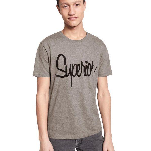Κοντομάνικο Μπλουζάκι T-Shirt Celio NEGRAPH Γκρι