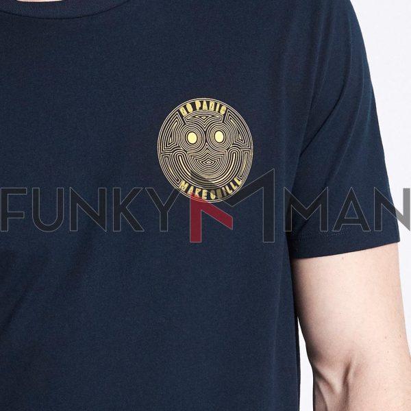 Κοντομάνικο Μπλουζάκι T-Shirt Celio NEINTER Navy