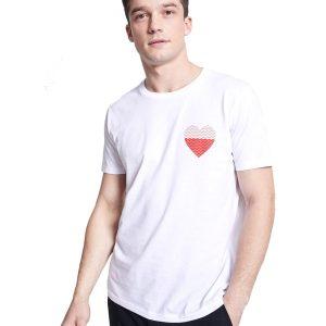 Κοντομάνικο Μπλουζάκι T-Shirt Celio NEINTER Λευκό