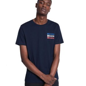 Κοντομάνικο Μπλουζάκι T-Shirt Celio NESTREETY Navy