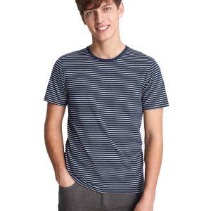 Κοντομάνικο Μπλουζάκι T-Shirt Celio NEUNIRAY Ριγέ Navy