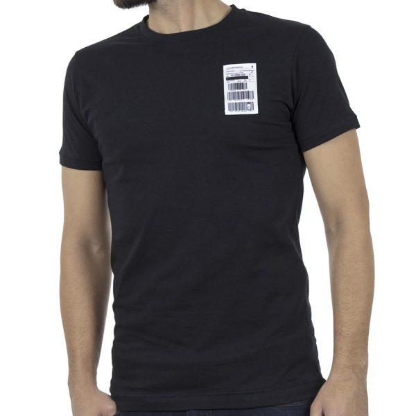 Κοντομάνικη Μπλούζα T-Shirt COVER BLAW Y235 Μαύρο