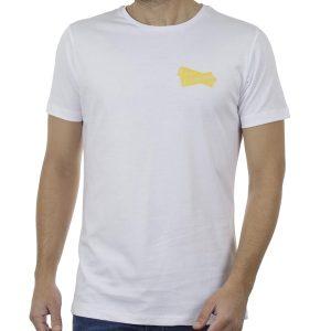 Κοντομάνικη Μπλούζα T-Shirt COVER CELL Y224 Λευκό