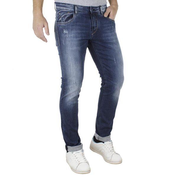 Τζιν Παντελόνι Skinny COVER DENIS F2649 Μπλε